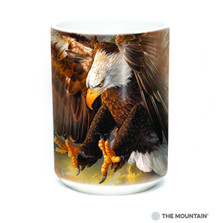 Freedom Eagle 15oz Ceramic Mug | The Mountain | 57394309011 | Bald Eagle Mug