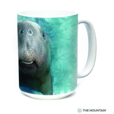 Manatee Big Face 15oz Ceramic Mug | The Mountain | 57841609011 | Manatee Mug