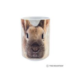 Bunny Face Rabbit 15oz Ceramic Mug | The Mountain | 57344609011 | Bunny Mug