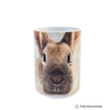 Bunny Face Rabbit 15oz Ceramic Mug | The Mountain | 57344609011 | Bunny Mug