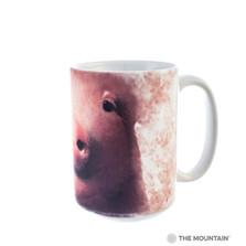 Pig Face 15oz Ceramic Mug | The Mountain | 57324409011 | Pig Mug
