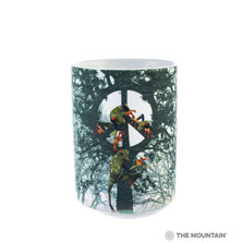 Peace Tree Frog 15oz Ceramic Mug | The Mountain | 57228909011 | Tree Frog Mug