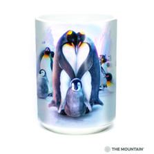 Penguin Heart 15oz Ceramic Mug | The Mountain | 57398109011 | Penguin Mug