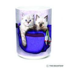 Fanny Pack Kittens 15oz Ceramic Mug | The Mountain | 57369309011 | Cat Mug
