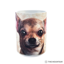 Chihuahua Face 15oz Ceramic Mug | The Mountain | 57333209011 | Chihuahua Dog Mug