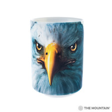 Eagle Face 15oz Ceramic Mug | The Mountain | 57343809011 | Bald Eagle Mug