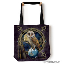 "Owl Spellkeeper 18"" Tote Bag 