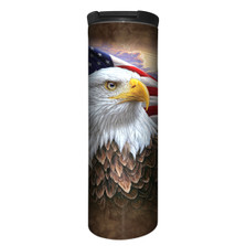 Independence Eagle Stainless Steel 17oz Travel Mug | The Mountain | 5948481 | Eagle Travel Mug