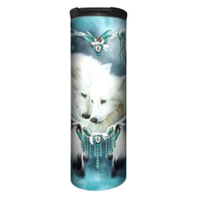 Wolf Heart Stainless Steel 17oz Travel Mug | The Mountain | 5938171 | Wolf Travel Mug