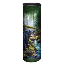 Black Bear Forest Stainless Steel 17oz Travel Mug | The Mountain | 5961641 | Black Bear Travel Mug