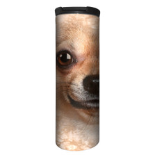 Chihuahua Face Stainless Steel 17oz Travel Mug | The Mountain | 5933321 | Chihuahua Travel Mug