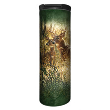 Golden Moment Deer Stainless Steel 17oz Travel Mug | The Mountain | 5961671 | Deer Travel Mug