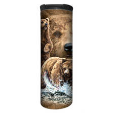 Ten Brown Bears Stainless Steel 17oz Travel Mug | The Mountain | 5934821 | Brown Bear Travel Mug