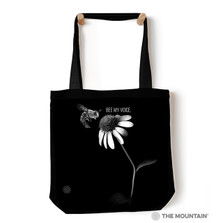 "Bee My Voice 18"" Tote Bag 