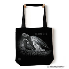 "Sea Turtle 18"" Tote Bag 