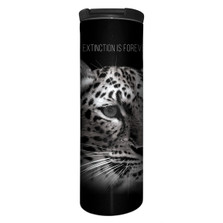 Leopard Stainless Steel 17oz Travel Mug | Extinction is Forever | The Mountain | 5959751 | Leopard Travel Mug