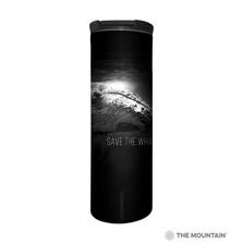 Save the Whales Stainless Steel 17oz Travel Mug | The Mountain | 5960881 | Whale Travel Mug