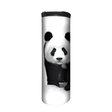 Panda Bear White 17oz Travel Mug | Protect My Home | The Mountain | 5955551 | Panda Travel Mug