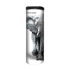 Elephant 17oz Travel Mug | No More Poaching | The Mountain | 5955501 | Elephant Travel Mug