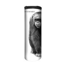 Chimpanzee 17oz Travel Mug | Protect My Habitat | The Mountain | 5955531 | Chimp Travel Mug