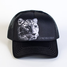 Leopard Trucker Hat | Extinction is Forever | The Mountain | 7659759 | Leopard Hat
