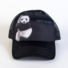 Panda Trucker Hat | Protect My Home | The Mountain | 7659769 | Panda Bear Hat