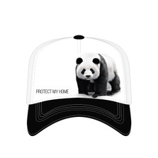 Panda White Trucker Hat | Protect My Home | The Mountain | 7655559 | Panda Bear Hat