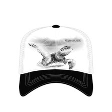Sea Turtle Trucker Hat | No More Plastic | The Mountain | 7655589 | Turtle Hat