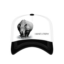 Rhino Trucker Hat | I am Not a Trophy | The Mountain | 7655529 | Rhinoceros Hat