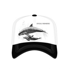 Critically Endangered Whales Trucker Hat | The Mountain | 7655579 | Whale Hat