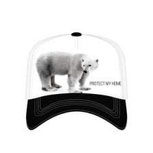 Polar Bear Trucker Hat | Protect My Home | The Mountain | 7655549 | Polar Bear Hat