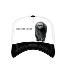 Chimpanzee Trucker Hat | Protect My Habitat | The Mountain | 7655539 | Chimp Hat