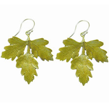 Petite Herb Parsley Wire Earrings | Michael Michaud Jewelry | SS3087BZG