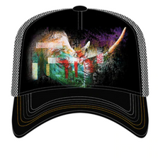 Painted Rhino Trucker Hat | The Mountain | 76632501009 | Rhinoceros Hat