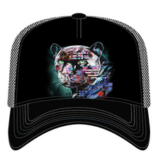 Painted Jaguar Trucker Hat | The Mountain | 76632401009 | Jaguar Hat