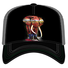 Painted Elephant Trucker Hat | The Mountain | 76632201009 | Elephant Hat