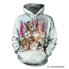 Kittens Selfie Unisex Hoodie | The Mountain | 724988 | Cat Sweatshirt