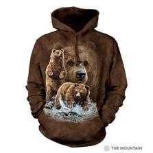 Find Ten Bears Unisex Hoodie | The Mountain | 723482 | Bear Sweatshirt
