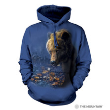 Foraging Bear Unisex Hoodie | The Mountain | 726166 | Bear Sweatshirt