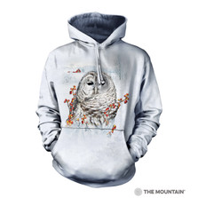 Country Owl Unisex Hoodie | The Mountain | 726394 | Owl Sweatshirt