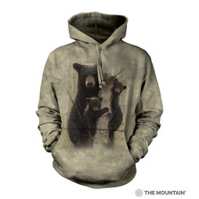 Mama Bear Unisex Hoodie | The Mountain | 726391 | Black Bear Sweatshirt