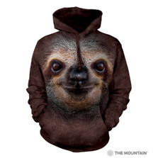 Sloth Face Unisex Hoodie | The Mountain | 723596 | Sloth Sweatshirt