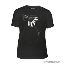 Bee My Voice Unisex Triblend T-Shirt | The Mountain | 546088 | Bee T-Shirt
