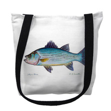 Striped Bass Tote Bag | Betsy Drake | TY002AM