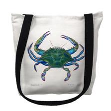 Blue Crab Tote Bag | Betsy Drake | TY005M