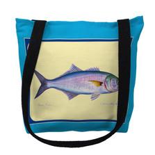 Blue Fish Tote Bag | Betsy Drake | TY007AM