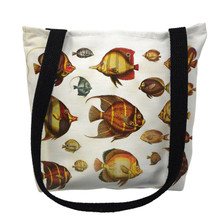 Multi Fish Tote Bag | Betsy Drake | TY007APM