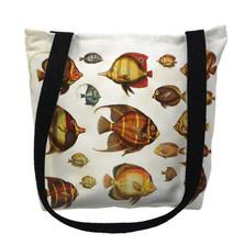 Multi Fish Tote Bag | Betsy Drake | TY007APM