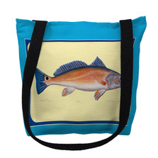 """Red Dream"" Fish Tote Bag 
