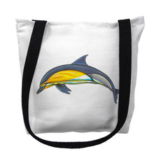 Dolphin Tote Bag | Betsy Drake | TY009M